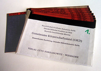 Corporate Bodies Authority File - The GKD on microfiche
