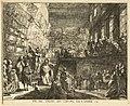 Gabriel Jacques de Saint-Aubin, Vue du Salon du Louvre en l'année 1753, 1753.jpg