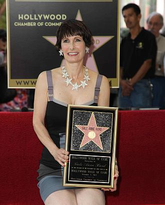 Gale Anne Hurd - Hurd with her Hollywood Walk of Fame star, 2012