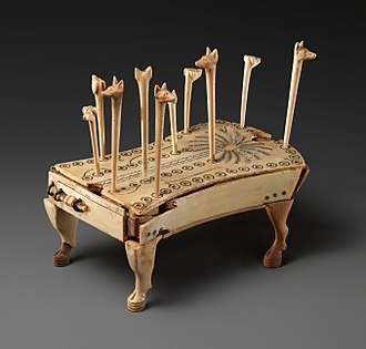 Board game - Hounds and Jackals (Egypt, 13th Dynasty)