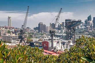HMAS Kuttabul (naval base) - Fleet Base East