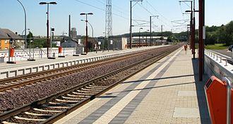 Bascharage-Sanem railway station - Bascharage-Sanem railway station
