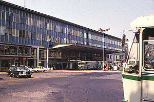 Liège-Guillemins railway station - the station in the 1970s