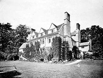 Garsington Opera - Garsington Manor photographed in 1865 by Henry Taunt