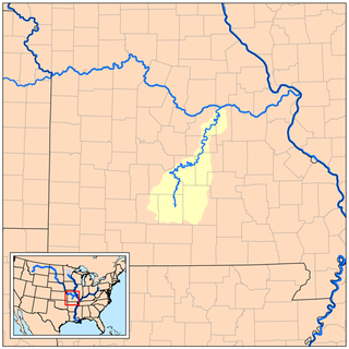 Gasconade River river in the United States of America