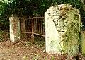 Gate near Edenderry - geograph.org.uk - 772792.jpg