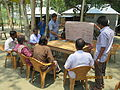 Gathering in a meeting of villagers in an Bangladeshi village 2015 41.jpg