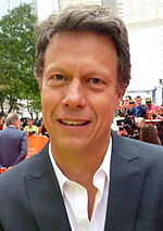 Photo of Gavin Hood at the 2015 Toronto International Film Festival.