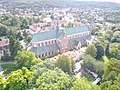 Gdansk Oliwa Cathedral aerial photograph 2019 P01.jpg