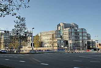 General Intelligence and Security Service - Building of the General Intelligence and Security Service