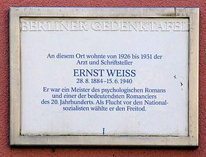 Weiss, Ernst