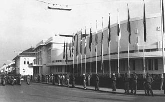 Bandung Conference - The venue in 1955