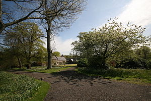 Cardross, Argyll - Geilston House, by Cardross, owned by the National Trust for Scotland