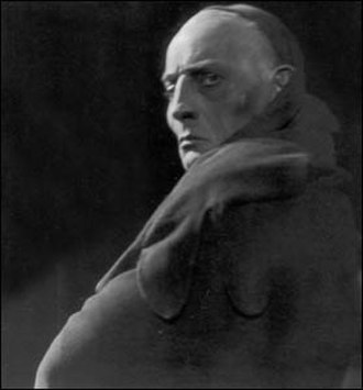 Gösta Ekman (senior) - Ekman in the play Bödeln (The Hangman) by Pär Lagerkvist at Vasateatern, Stockholm, in 1934