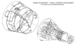 תרשים חללית ג'מיני