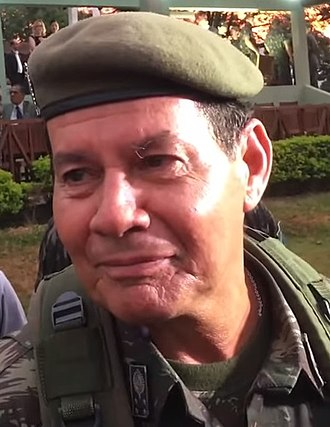 Hamilton Mourão - General Mourão in 2016