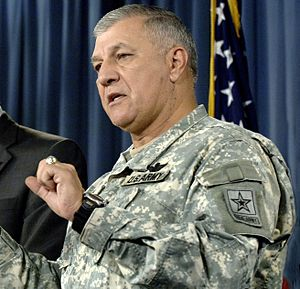 Richard A. Cody - General Cody at a press conference in 2007.
