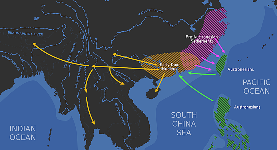 Genesis of Daic languages and their relation with Austronesians