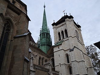 St. Pierre Cathedral - Image: Geneva saint peter 2