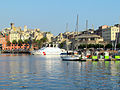 Genova, l'area portuale storica del Mandraccio nel Porto Antico.jpg