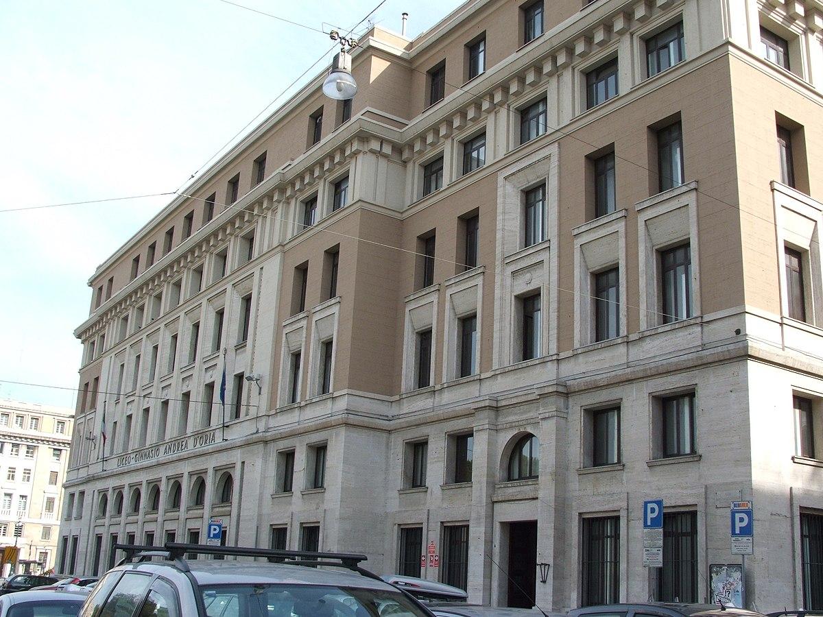 Liceo ginnasio andrea d 39 oria wikipedia for Architettura fascista in italia