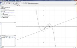 Screenshot di GeoGebra