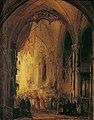 Georg Gillis van Haanen - Prozession in einer Kathedrale - 4053 - Österreichische Galerie Belvedere.jpg