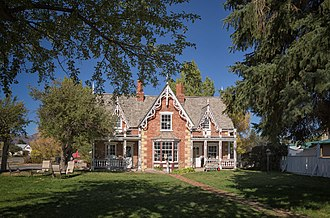 National Register of Historic Places listings in Wasatch County, Utah - Image: George Bonner Sr House
