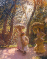 George Clausen - The Gleaners Returning, 1908.png