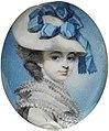 George Engleheart - Portrait of Unknown Woman - circa 1780 - Victoria & Albert Museum.jpg