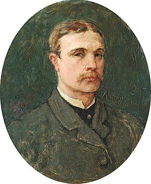 George Henry Boughton - Self-portrait (1884)