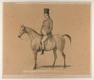 Octavian (horse) - The 6th Duke of Leeds, who bought Octavian after spotting him as a foal