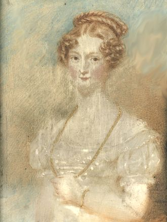 Sir Thomas White, 2nd Baronet - Georgina, Lady White was the first wife of Sir Thomas White, Bt. of Wallingwells. She died at the age of 18