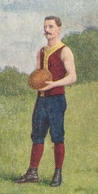Melbourne University Football Club - Gerald Brosnan, coach of University for four seasons, pictured here during his Fitzroy playing days