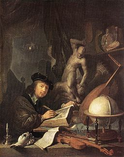 Gerard Dou - Painter in his Studio - WGA06642