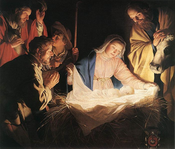 File:Gerard van Honthorst - Adoration of the Shepherds - WGA11657.jpg