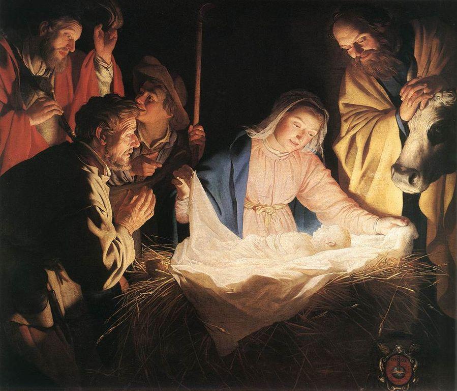 [Image: 899px-Gerard_van_Honthorst_-_Adoration_o...A11657.jpg]