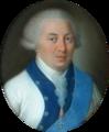 German School - Portrait of a Prince in uniform, pastel, pair.png
