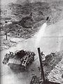 German rocket fire against Polish positions during the Warsaw Uprising.jpg