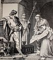 """Germania, 1882 """"Carlo-Magno examina el plano de una capilla para el Palacio de Aquisgrán"""". (4359125530).jpg"""