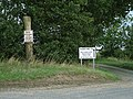 Get the message, we're on a road to nowhere^ - geograph.org.uk - 547576.jpg