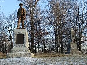 Alexander Hays - General Alexander Hays (c. 1914) by J. Otto Schweizer, Gettysburg Battlefield, Gettysburg, PA.