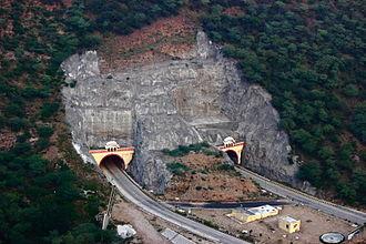 Jaipur - Ghat ki Guni Tunnel National Highway 11 Jaipur