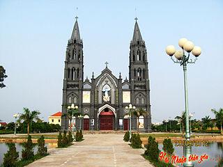Hải Hậu District District in Red River Delta, Vietnam