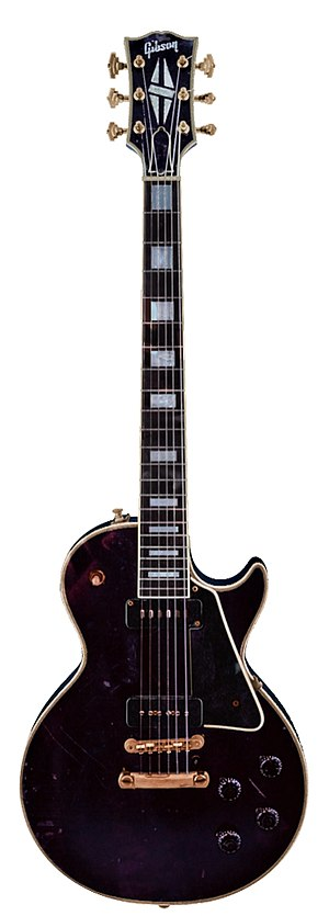Electric guitar - Image: Gibson Les Paul 54 Custom