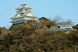 Siege of Inabayama Castle - Image: Gifu Castle
