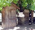Gillman Ranch, Outhouse and Shower 5-2012 (7414691360).jpg
