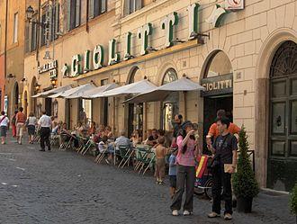 Giolitti - Giolitti at Via Uffici del Vicario in Rome, Italy.