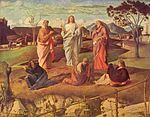 Giovanni Bellini - Trasfigurazione di Cristo