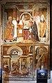 Giovanni e Bernardino da Asola, presentazione del bambino al tempio, san lorenzo e suo martirio, 1510 ca.jpg